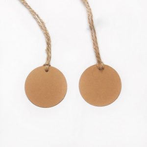 100pcs-Brown-Kraft-Paper-Hang-Tags-Wedding-Party-Favors-Punch-Label-Price-Gift-Cards-With-Free