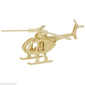 3D Helicopter Puzzle
