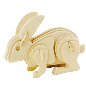 3D Rabbit Puzzle