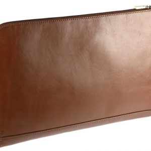 A4 Tan Leather Document Holder