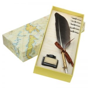Ancient Quill Feather Pen Sets (Special Order)