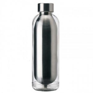 Double Wall Stainless steel water bottle with Acrylic Shell