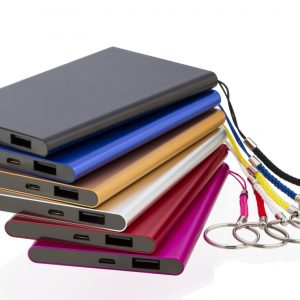 Executive Multi Colour Power Banks (Available in 2000mah and 4000mah)