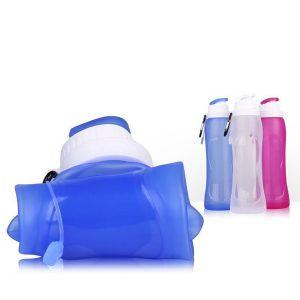 Flip Top Foldable Water Bottle (BPA Free)
