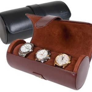 Leather Made Watch Travel Case