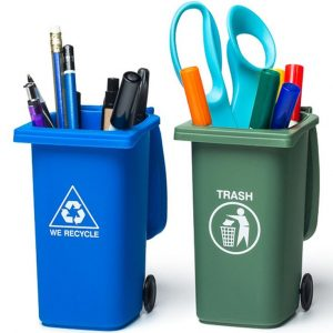 Miniature Recycle Bin Stationary Storers