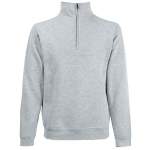 Classic Quarter-Zip Sweatshirts - Available in Multi-colours (SIzes S-3XL)