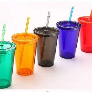 Promotional All Colour Plastic Tumblers 3
